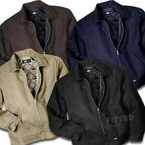 Dickies-Mens-Lined-EISENHOWER-JACKET-All-Colors-Outerwear-Uniform-Style-TJ15