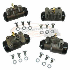 Ford 1939 1940 1941 1942 1944 1946 1947 1948 Wheel Cylinders New Front & Rear
