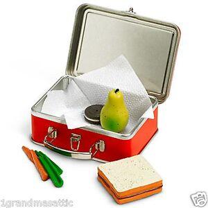 American-Girl-Molly-Lunchbox-Lunch-Box-NIB-NRFB-Carrots-Cookie