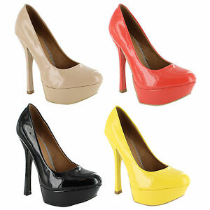 New-Ladies-Platform-High-Heel-Classic-Court-Sandals-Womens-Size-UK-3-4-5-6-7-8