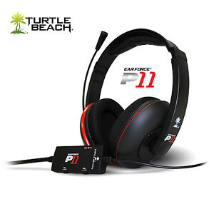 Turtle-Beach-Ear-Force-P11-Amplified-Stereo-Gaming-Headset-PS3-PC-MAC