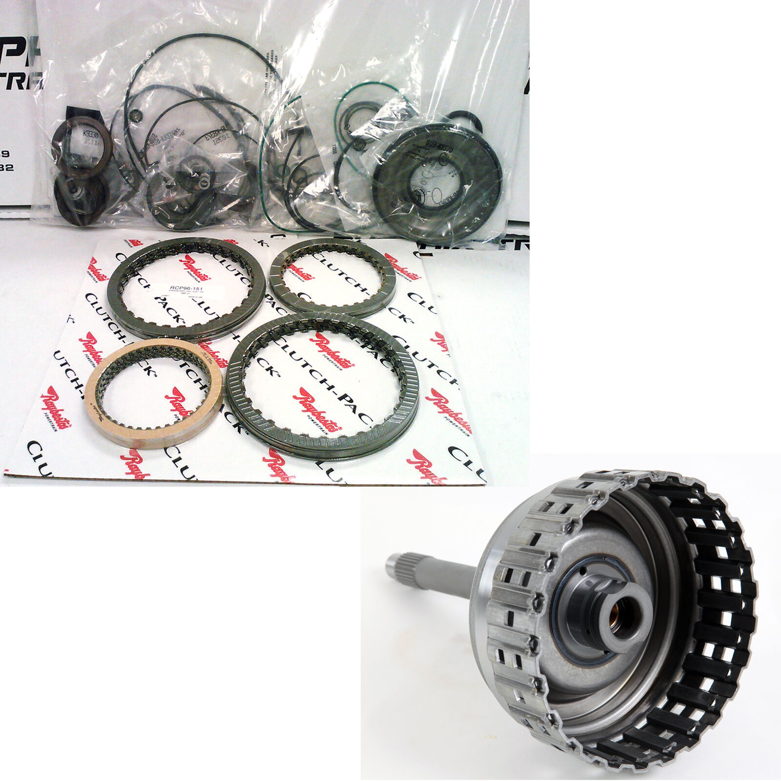 ZF5HP24 TRANSMISSION REBUILD KIT + CLUTCH PACK WITH A