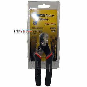 HEAVY DUTY SPEAKER WIRES/POWER CABLES CUTTER & STRIPPER 24 GAUGE UP TO 0 GAUGE