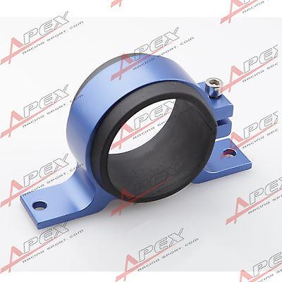 Details about 52mm ID Fuel Pump Bracket Anodised Single Billet Aluminum  Filter Clamp Cradle