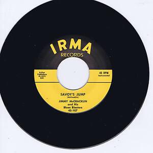 JIMMY-McCRACKLIN-SAVOYS-JUMP-FANTASTIC-VOCAL-RHYTHM-BLUES-JIVER-REPRO