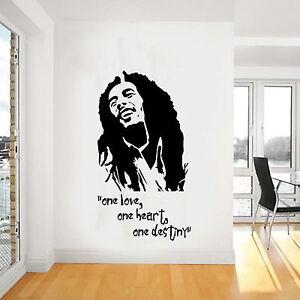 Arte pared bob marley icono cl sico reggae vinilo pegatina - Vinilo bob marley ...