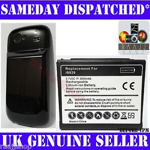 NEW EXTENDED BATTERY FOR SAMSUNG GOOGLE NEXUS S i9020 3500mAh WITH BACK COVER