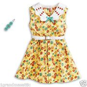 American Girl Kit Floral Print Dress