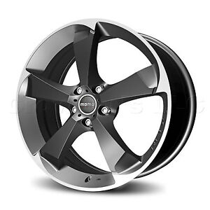 MOMO Car Wheel Rim Drone Anthracite 17 x 7.5 inch 5 on 112 mm DR75751245A