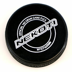 ice hockey puck, official 163gram game puck