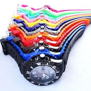 Cool-FASHION-Silicone-Rubber-Quartz-Wrist-Jelly-gel-Watch-Unisex-With-Calendar