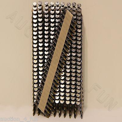 500 Ct 1-1/2 Hdg Joist Hanger Nails For Bostitch Paslode Gun Paper Tape Galvan.