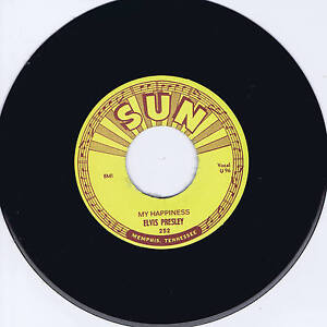 ELVIS PRESLEY - MY HAPPINESS - 1st SUN recording - 1953 -RECORDED FOR HIS MOTHER
