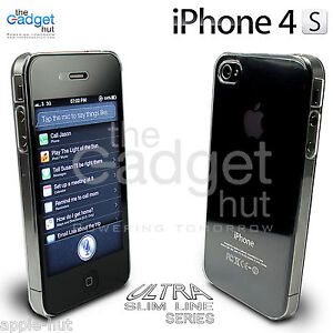 NEW STYLISH ULTRA THIN CRYSTAL CLEAR CASE COVER & GUARD FOR APPLE IPHONE 4 & 4S