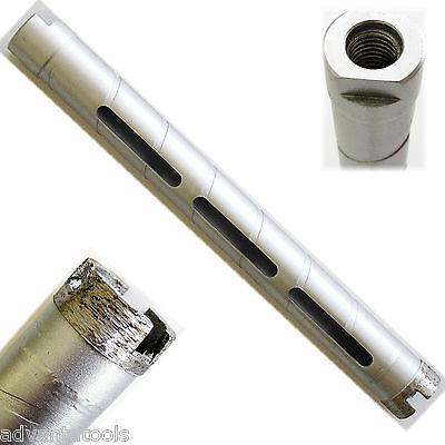 "1-1/4"" Dry Diamond Core Drill Bit for Concrete Masonry 5/8""-11 Threads"