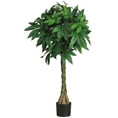 Decorative Natural Looking Artificial Bonsai Style 51 Money Tree Silk Plants