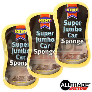 3-x-SUPER-JUMBO-QUALITY-CAR-SPONGE-FOR-CLEANING-WASHING-DIRT-CAR-VAN-HOME