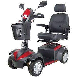 4 Wheel Recreational Heavy Duty Outdoor Terrain Electric Power Mobility Scooter