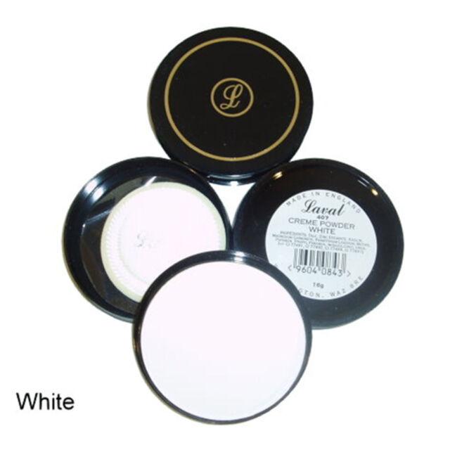Laval WHITE 407 Creme Pressed Powder Compact, 16g