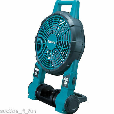 Makita BCF201Z 18V Cordless LXT Lithium-Ion 2-Speed Jobsite Fan NEW for Drywall