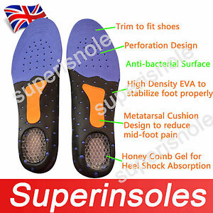 Gel-heel-Odour-Free-Breathable-Arch-Support-Full-Foot-Orthotic-Pads-Insoles