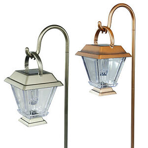6-Pack-Outdoor-Brass-Copper-Color-2-LED-Solar-Landscape-Path-Lights-Yard-Lamp