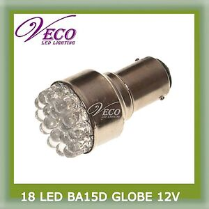 18-LED-BA15D-GLOBE-BULB-CAR-CARAVAN-BOAT-INTERIOR-LIGHT-12V