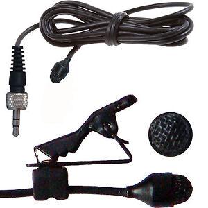 TIE-CLIP-LAPEL-VOICE-LAVALIER-MICROPHONE-FOR-SENNHEISER