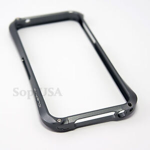 Dark Grey Gun Metal Aluminum Bumper Case Cleave Style for Apple iPhone 5