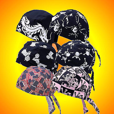 **NEW**Do Rags Skull Caps-Set No.3-Set of 6 Assorted--Buy 2-Have His & Hers Sets