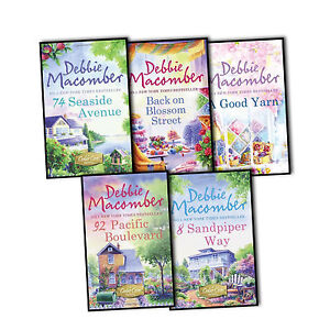 Debbie-Macomber-5-Books-Collection-Pack-Set-A-Good-Yarn-Back-on-Blossom-Street