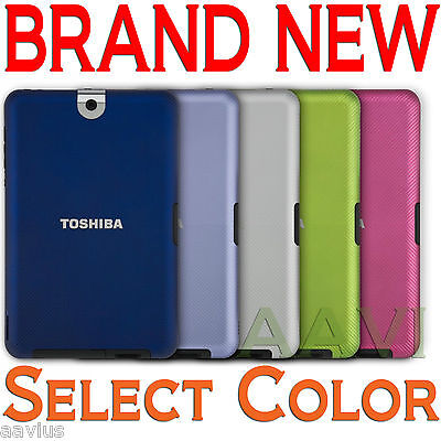 Toshiba Thrive Protective Back Cover Hard For 10.1-inch Tablet Green/blue/purple