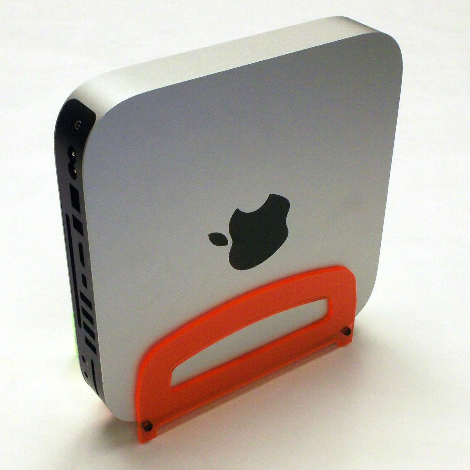 Mini Mac Time Capsule Rasberry Red Apple Acrylic Computer Stand 2010+