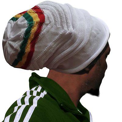 Jamaica Rasta Reggae Tam Cool Runnings Hat Marley Natty Dread Rastafari Irie M/l