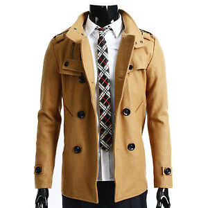 Beige Trench Coat Mens