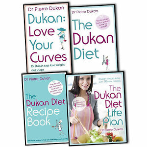 Dr-Pierre-Dukan-The-Diet-4-Books-Collection-Life-Plan-Recipe-Love-Your-Curves-BN