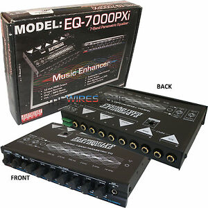 NEW-EARTHQUAKE-SOUND-EQ-7000PXI-7-BAND-EQUALIZER