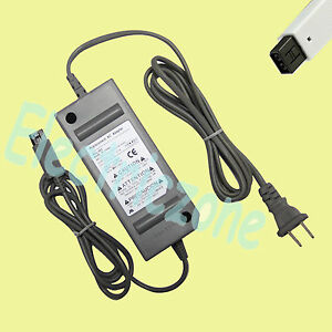 USA! 52W 12V Power AC Adapter Charger Supply Cord for Nintendo Wii 110v-220v NEW