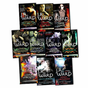 J-R-Ward-Black-Dagger-Brotherhood-Series-10-Books-Collection-Set-Lover-Reborn-BN