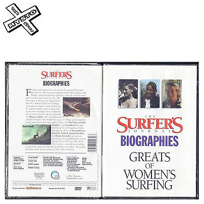 THE SURFER'S JOURNAL GREATS OF WOMEN'S SURFING SURF DVD SURFING FILM MOVIE