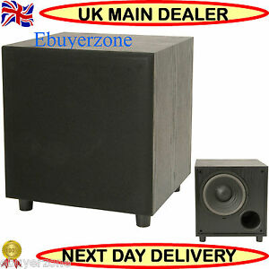AV-LINK-ACTIVE-SUB-CABINET-HIGH-QUALITY-SUBWOOFER-200W-HI-FI-HOME-CINEMA-Single