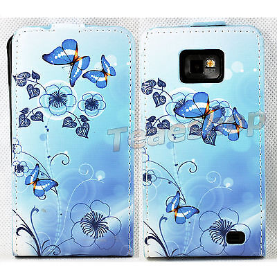 New Fashion Flip Leather Pouch Cover Case For Samsung Galaxy S2 SII i9100  #33 on Rummage