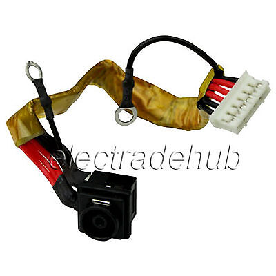 Sony Vaio Pcg-5j2l Pcg-5k1l Pcg-5k2l Dc Power Jack Plug Cable Harness Cj133