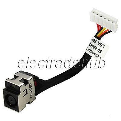 Hp Compaq Cq50 Cq60 G50 G60 Ac Dc Power Jack Cable Harness 50.4ah28.001 Cj44