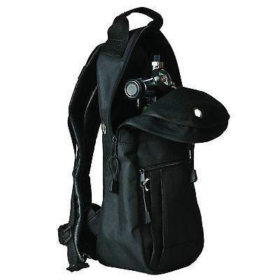 Backpack Oxygen Tank Carrier, Fits A, M6, Ml6, & C Cylinders, Bag Back Pack