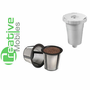 2 Extra Filters Replacement Reusable Keurig My K Cup Kit ...
