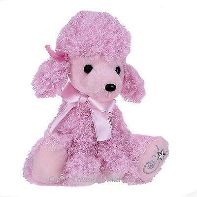 Russ Shining Stars Plush Pink Poodle Fuzzy Dog Soft & Cute With All Tags
