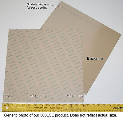 3M 300LSE super-strong double-sided adhesive sheets various sizes discounts Office Supplies