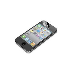 BELKIN SCREEN PROTECTOR FOR IPHONE 4 4S MATTE REDUCE GLARE 3 OVERLAYS NEW F8Z710