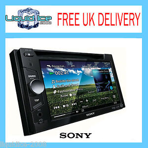 SONY XAV 63 DOUBLE DIN HEAD UNIT DVD CD MP3 6.1